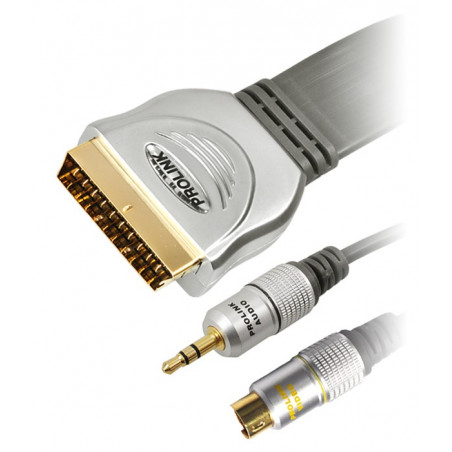 Prolink Exclusive TCV 7580 20m kabel SCART (Euro) - S-Video