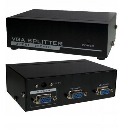 Splitter rozgałęźnik HD VGA (D-sub) 1 IN - 2 OUT