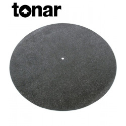 Tonar Leather Mat - Skórzana mata gramofonowa antystatyczna