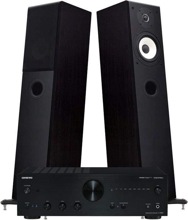 Zestaw stereo 2.0 - STX Electrino 250 + amplituner ONKYO A-9050