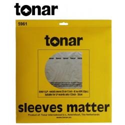 """Wewnętrzne koperty do płyt 12"""" marki Tonar (5961) – 50 sztuk"""