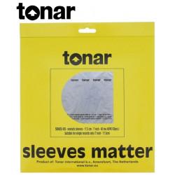"""Wewnętrzne koperty do płyt 7"""" marki Tonar (5983) – 50 sztuk"""