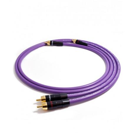 Melodika MD2R10 1m Kabel audio cinch 2 RCA - 2 RCA