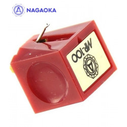 Nagaoka 6819 JN-P100 – Wymienna igła gramofonowa do wkładki MP-100