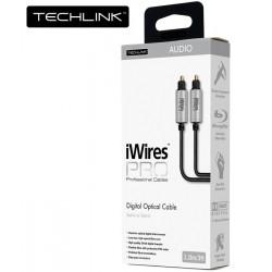 Techlink iWires Pro 711215 – Kabel optyczny Toslink 5m