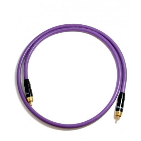 Melodika MDSW10 1m Kabel do Subwoofera Cinch RCA - RCA