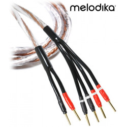 Melodika Brown Sugar BSBW4525 – Kabel głośnikowy bi-wiring 2x3,3mm2 - 2,5m