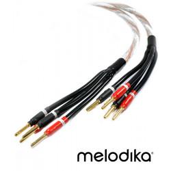 Melodika Brown Sugar BSBA4520 – Kabel głośnikowy bi-amping 2x4,5mm2 - 2m