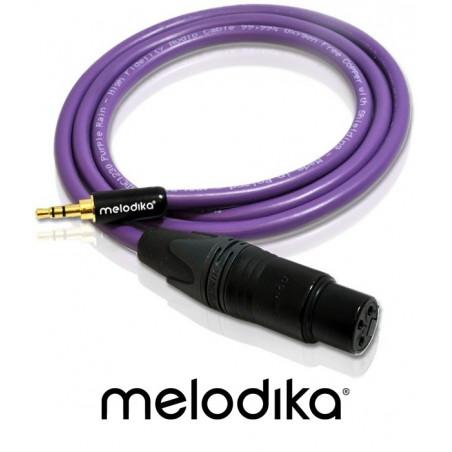 Kabel mini-Jack 3.5mm - XLR 3pin Melodika MDMJX80 8m