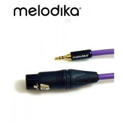 Kabel mini-Jack 3.5mm - XLR 3pin Melodika MDMJX