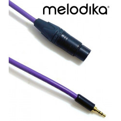 Kabel mini-Jack 3.5mm - XLR 3pin Melodika MDMJX
