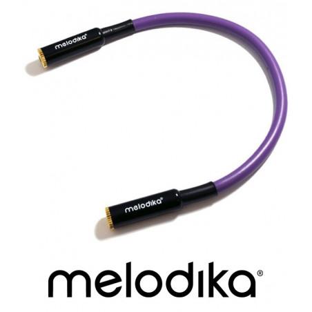 Łącznik Jack stereo 3.5mm gniazdo-gniazdo Melodika MDGMJ02