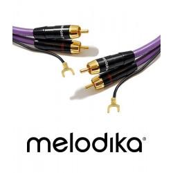 Kabel gramofonowy 2xRCA Phono Melodika MDPH