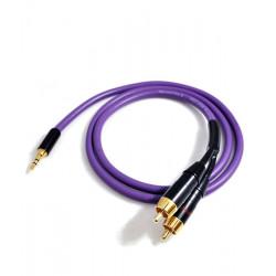 Melodika MDMJ2R120 Kabel Jack 3.5mm - 2 RCA 12m
