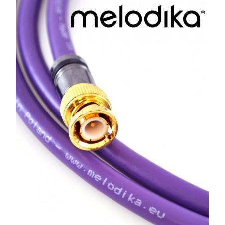 Melodika MDBN100 Profesjonalny kabel BNC-BNC 10m