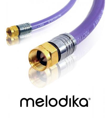 Kabel antenowy Melodika MDF40 Wtyk-Wtyk F 4m