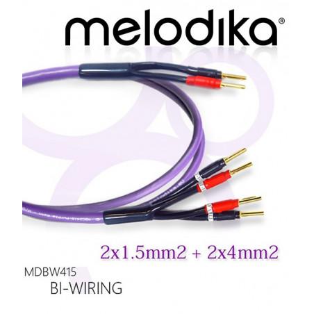 Kabel głośnikowy bi-wiring MDBW41525 Melodika 2.5m