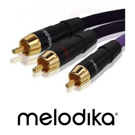 Melodika MDSWY100 kabel subwoofera typu Y - 10m