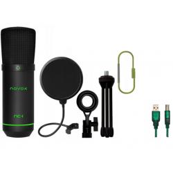 Novox NC-1 GAME Mikrofon pojemnościowy + Pop Filtr