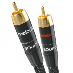 Melodika MD2RD10 Black Edition - Kabel 2x RCA