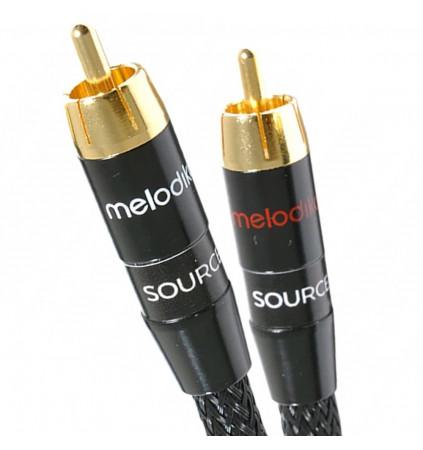 Melodika MD2RD10 Black Edition - Kabel 2x RCA