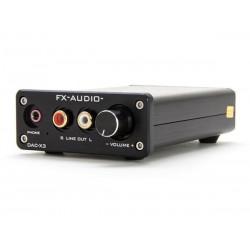 Wzmacniacz słuchawkowy FX-AUDIO DAC-X3 USB 2.0 RCA