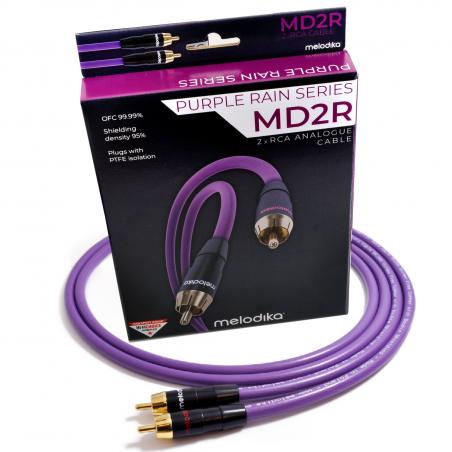 Melodika MD2R20 2m Kabel audio cinch 2 RCA - 2 RCA