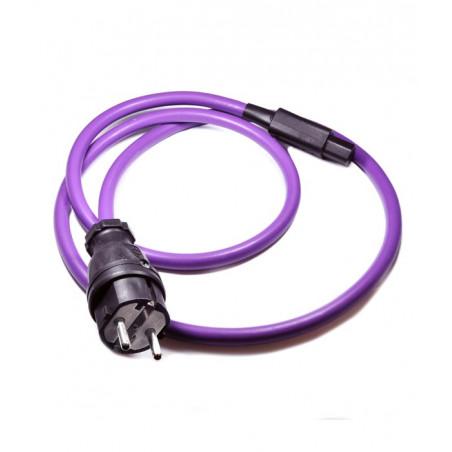 Melodika MDP10 Kabel zasilający z uziemieniem 1m Schuko-IEC C13