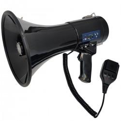 Tonsil TE 24/20 MP3, USB, SD - Megafon bezprzewodowy Czarny