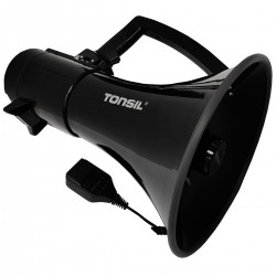 Tonsil TE 30/20 - Megafon bezprzewodowy z akumulatorem Czarny