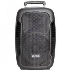 Tonsil ZP 12 DSP - Aktywna kolumna mobilna 200W + 2 mikrofony bezprzewodowe