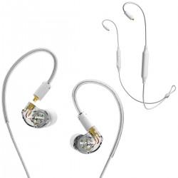 MEE Audio M7 PRO + BTX1 - Słuchawki dokanałowe z adapterem Bluetooth