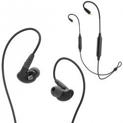 MEE Audio Pinnacle P2 + BTX1 - Słuchawki dokanałowe z adapterem Bluetooth