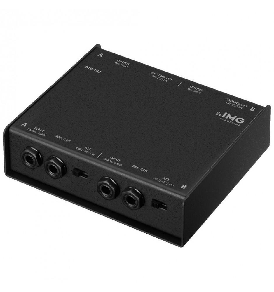 MONACOR DIB-102 - Pasywny 2 kanałowy Di-Box