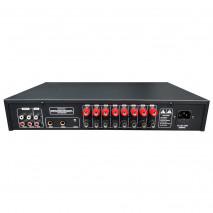 Tonsil W-280 - Wzmacniacz stereo 8 x 20W MP3, USB, Bluetooth, FM