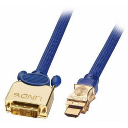 Kabel (przewód) HDMI-DVI Lindy 37086 - 10m