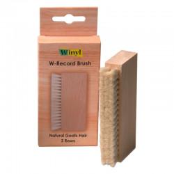 Winyl W-Record Brush - Szczotka do płyt winylowych