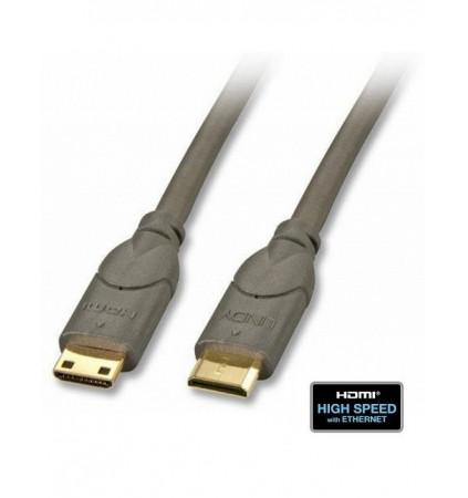 Kabel (przewód) mini HDMI Lindy 41040 - 0.5m