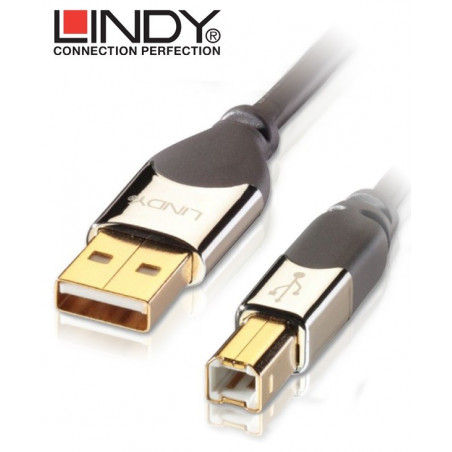Kabel (przewód) USB A-B Lindy 41580 - 0.5 m