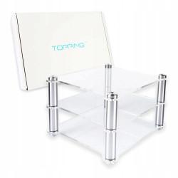 Topping Audio Rack - Akrylowa półka/stolik na wzmacniacz