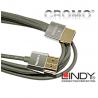 Kabel (przewód) HDMI Cromo Slim Lindy 41675 - 3m