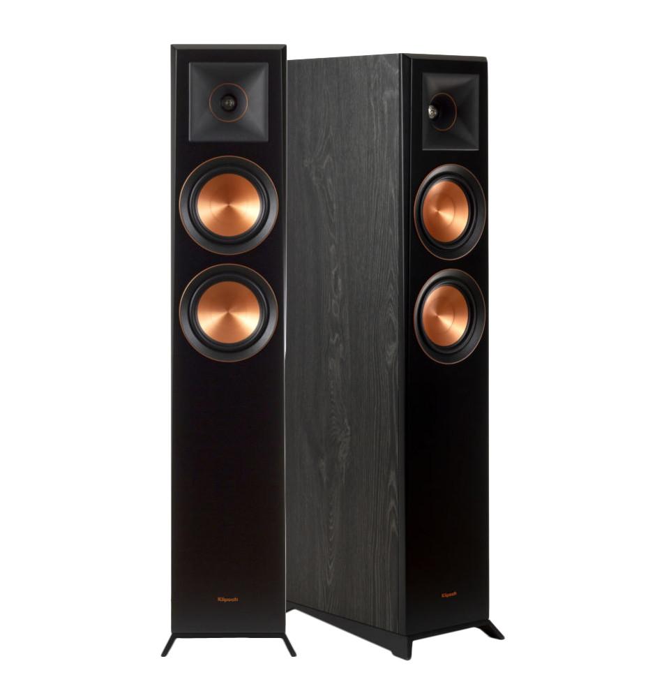 Klipsch RP-5000F – Kolumny podłogowe (para) + Melodika MDC2250 2x2,5mm2 - 5 metrów