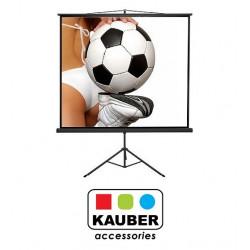 Ekran na statywie Kauber Econo Mobil Tripod 200 x 200 cm 1:1