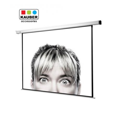 Ekran elektryczny Kauber Econo Electric 152 x 152 cm 1:1