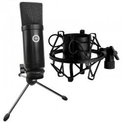 SAIBU MU-1 - Mikrofon pojemnościowy USB + Kosz antywibracyjny 43-47mm