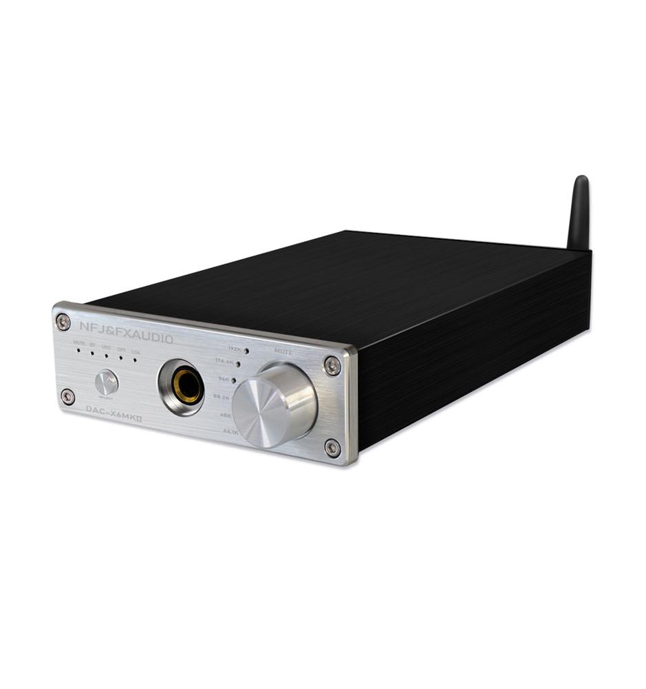 Fx-Audio DAC-X6 MKII - Wzmacniacz słuchawkowy DAC z Bluetooth