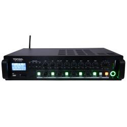 Tonsil WL-240 - Wzmacniacz miksujący 4-strefowy 240W Bluetooth / FM / SD / XLR