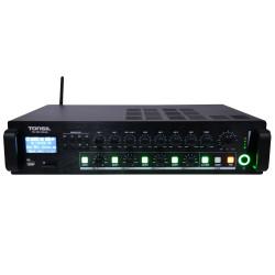 Tonsil WL-360 - Wzmacniacz miksujący 4-strefowy 360W Bluetooth / FM / SD / XLR