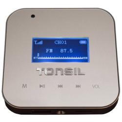 Tonsil WS-30 - Odtwarzacz ścienny 2 x 15W, USB, SD, FM, Bluetooth