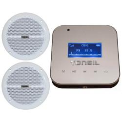 Tonsil WS-30 + 2 x ZGSU 16/2-DR - Zestaw odtwarzacz ścienny i 2 głośniki